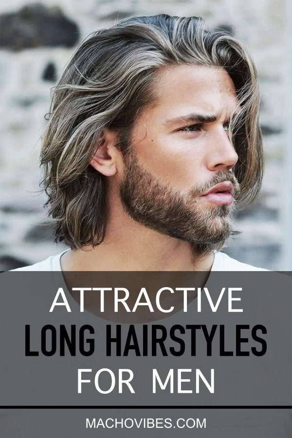 Irresistibly Attractive Long Hairstyles For Men