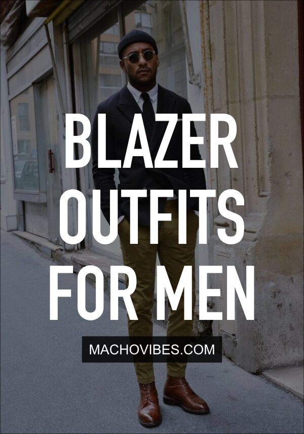 Blazer Outfits For Men To Try This Winter