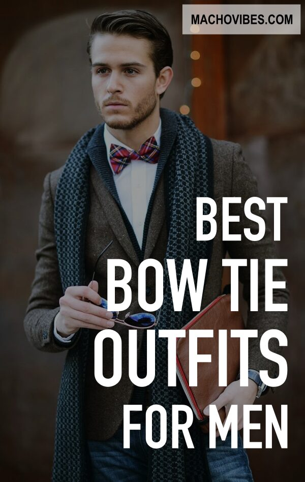 Real Men Bow Tie Outfits For 2020