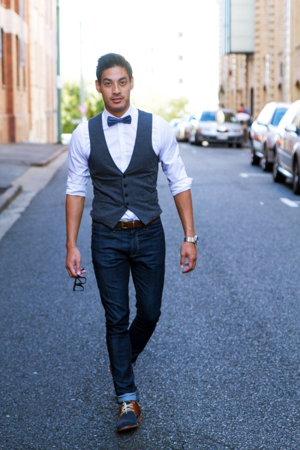 8e8770dc5c3f 40 Real Men Bow Tie Outfits for 2018 - Machovibes