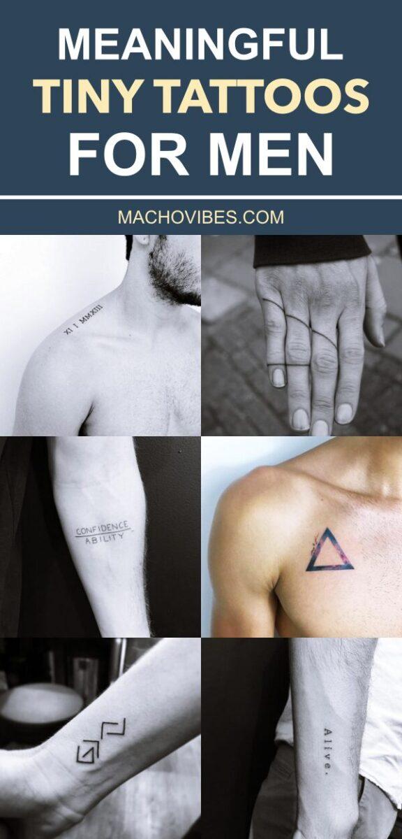 Tiny Tattoos For Men