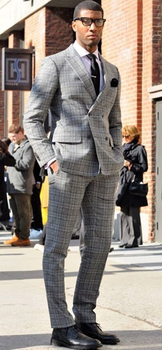 best-tailored-checkered-suits-men