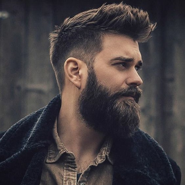 40 Viral Undercut Hairstyles with Beard , Machovibes