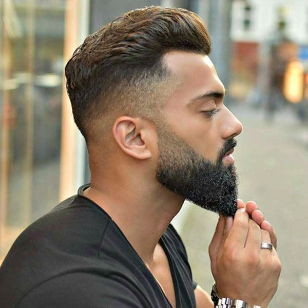 40 Viral Undercut Hairstyles With Beard