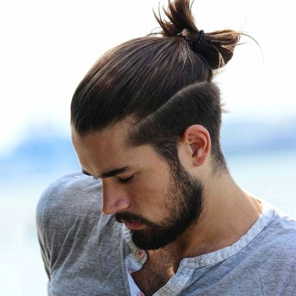 20 Bun Hairstyles for Men Which Suits any Outfit - Machovibes