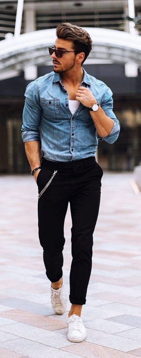 Best-Tucked-in-Shirt-Outfits-For-Men