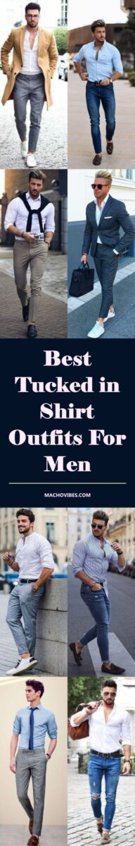 Best-Tucked-in-Shirt-Outfits-For-Men-First-image