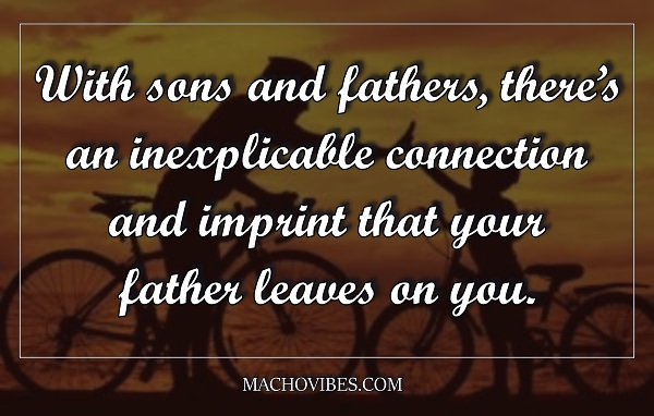 Touching Father and Son Moments Quotes