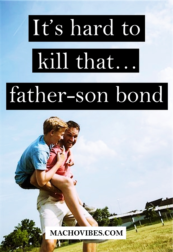 Deep and Simple Father Son Relationship