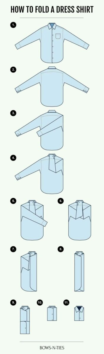 متشائم الرسغ اسمى، صورى شكلى، بالاسم فقط how to fold clothes